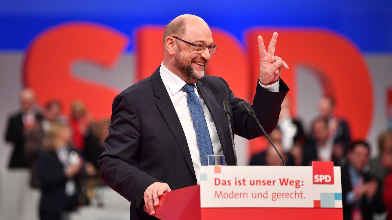 Martin Schulz erhält Dämpfer - mit 81,9 Prozent als SPD-Chef wiedergewählt