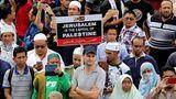 Demonstranten in Kuala Lumpur