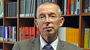 Thomas Rauscher, Jura-Professor, ist an seiner Uni in Leipzig eine umstrittene Person