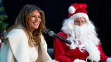 Melania Trump Weihnachtsmann