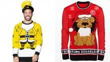 Weihnachtspullis der Bundesliga-Vereine
