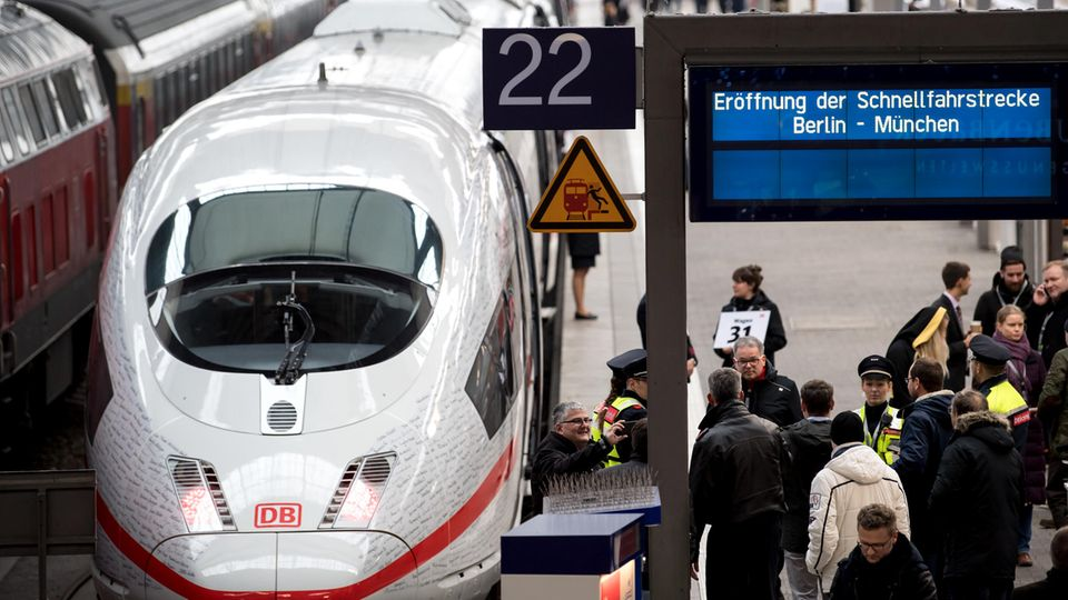 Warum es ein Wunder ist, dass die neue Turbo-Strecke der Deutschen Bahn fertig wurde