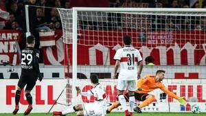 Fußball-Bundesliga: Leverkusen beendet Heimserie des VfB Stuttgart