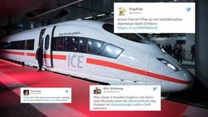 Deutsche Bahn hat Panne bei Eröffnung - so reagieren die Twitter-User