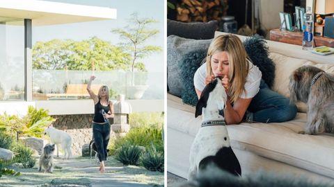 Jennifer Aniston zeigt ihre Villa