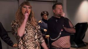 Taylor Swift, James Corden