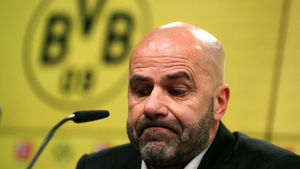 BVB-Trainer Peter Bosz