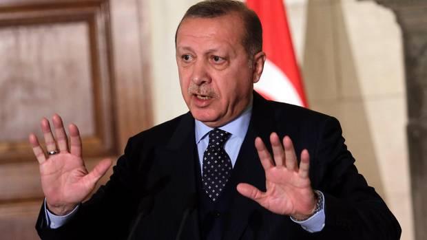 """Erdogan wettert gegen Israel und sagt: """"Palästina ist ein unschuldiges Opfer."""""""