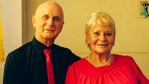 Marille, 76, und Hermann, 79, beide in Rente