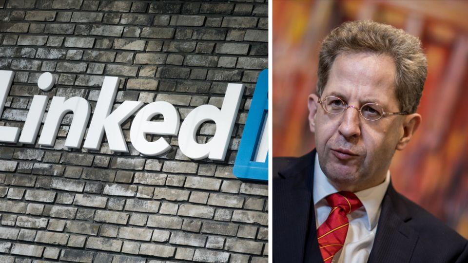 Verfassungsschutzpräsident Hans-Georg Maaßen warnt vor chinesischen LinkedIn-Profilen