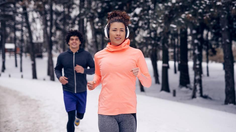 Regelmäßige Bewegung stärkt das Immunsystem – auch bei Kälte, Eis und Schnee