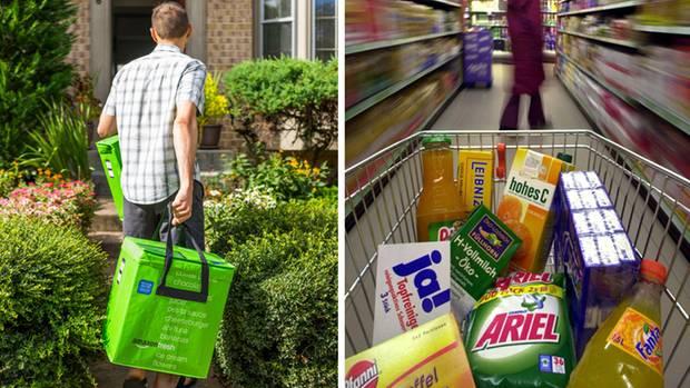 Einkauf liefern lassen
