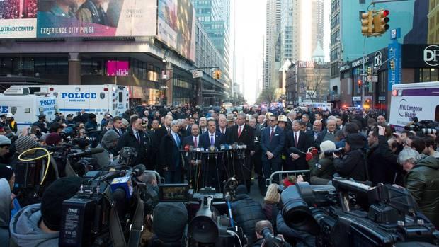 Versuchter Terroranschlag in New York: 27-Jähriger festgenommen - drei Verletzte