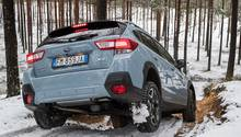 Subaru XV 2.0i - der Allradantrieb verteilt seine Kraft variabel