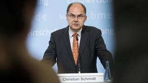 Nebulöse Erklärungen und Briefings des eigenen Ministeriums im Wahlkampf: CSU-Minister Christian Schmidt