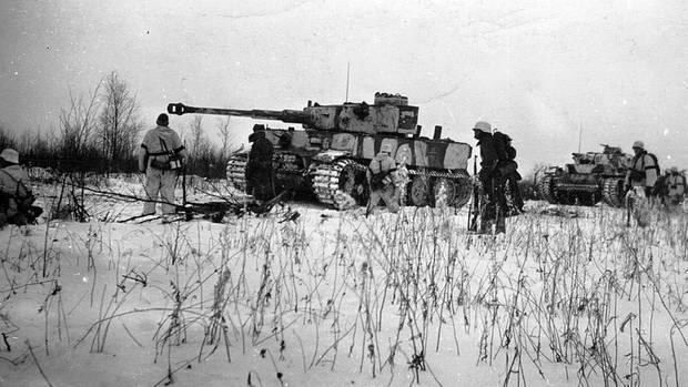 Die mächtigen Tiger I kamen zu spät, um den Weg nach Stalingrad zu bahnen.