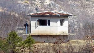 Nordkorea Soldat UN