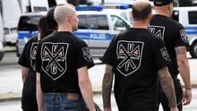 Neonazis in Berlin Spandau