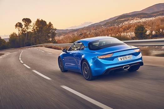 Der Alpine A110 schafft 250 km/h Spitze