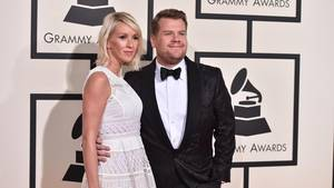 Julia Carey und James Corden