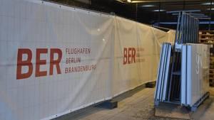Baustelle auf dem Hauptstadtflughafen BER