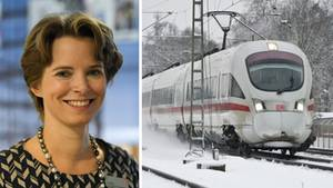 Birgit Bohle, die Vorsitzende des Vorstands der DB Fernverkehr AG.