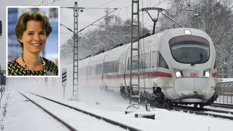 """Die Bahn kämpft mit Schnee und weiteren Problemen beim Fahrplanwechsel. """"Ich möchte mich bei allen betroffenen Fahrgästen entschuldigen"""", sagt Birgit Bohle, die Vorsitzende des Vorstands der DB Fernverkehr AG."""
