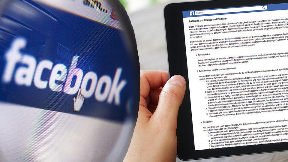 Facebook-AGB unter der Lupe: Wer die Nutzungsbedingungen des Social-Media-Giganten liest, braucht viel Zeit