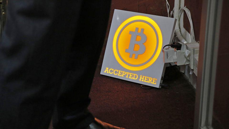 Bitcoin-Geldautomat in HongKong