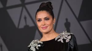 """""""Er war jahrelang mein Monster"""", schreibt Schauspielerin Salma Hayek über den früheren Hollywood-Produzent Harvey Weinstein"""