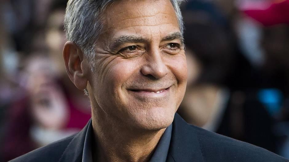 George Clooney verschenkt 20 Millionen Dollar