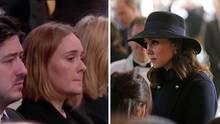 Adele und Herzogin Kate beim Gedenkgottesdienst Grenfell Tower