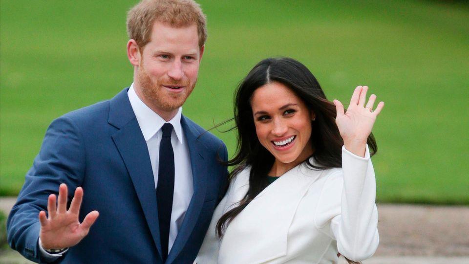 Wollen sich im Mai das Ja-Wort geben: Prinz Harry und Meghan Markle
