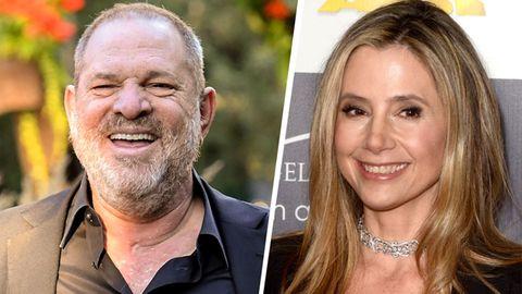 Harvey Weinstein soll unter anderem die Karriere von Mira Sorvino (rechts) behindert haben.