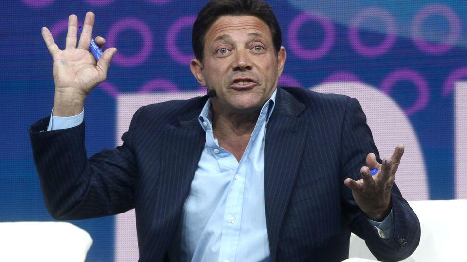 Jordan Belfort war der Wolf of Wall Street - er warnt vor dem Geschäft rund um Bitcoins