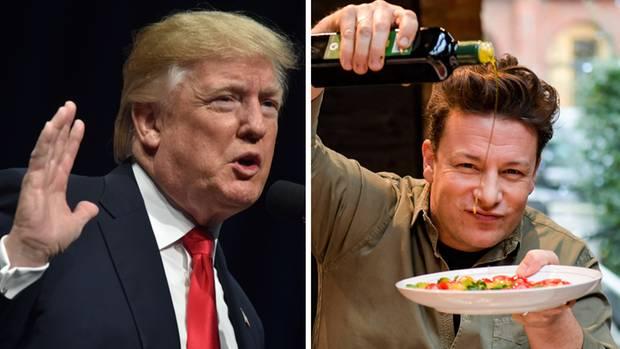 Kombo Jamie Oliver Donald Trump