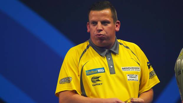 darts wm 2018 - dave chisnall