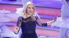 Stefanie Hertel singt auf der Bühne