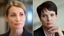 Anja Kling spielt Frauke Petry-Verschnitt