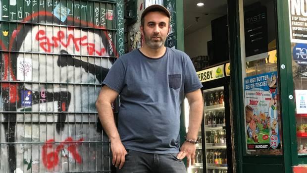Kioskbetreiber Tuncay Simsek