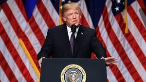 """""""Ära des Wettbewerbs"""": Donald Trump umreißt seine Sicherheitsstrategie für die USA"""
