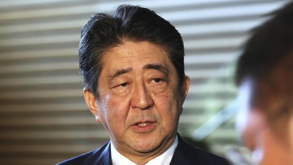Japans Ministerpräsident Shinzo Abe will sein Land gegen Nordkorea gewappnet sehen