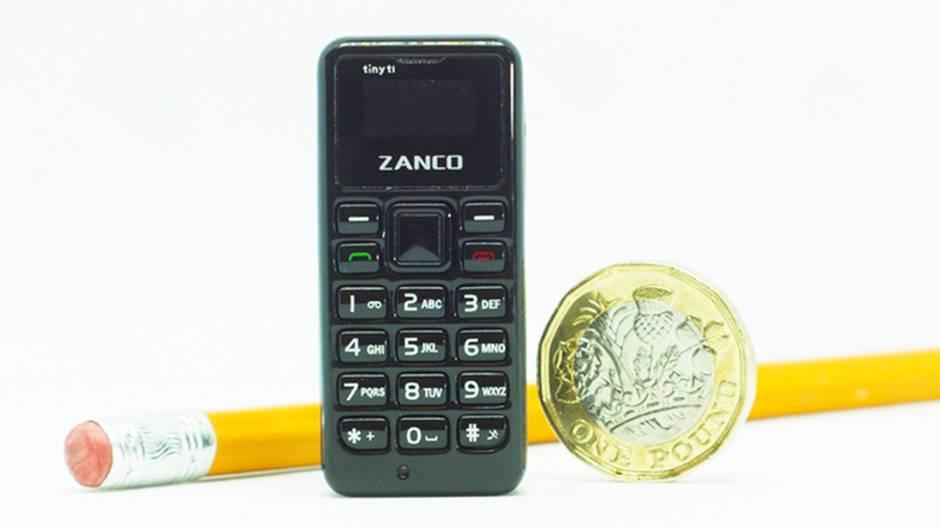 Zanco: Das kleinstes Handy der Welt
