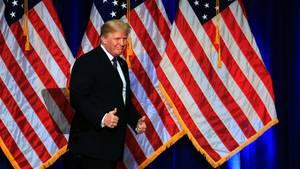 """""""America First"""" wird zu Amerika allein: Drei bemerkenswerte Sätze von Donald Trump"""