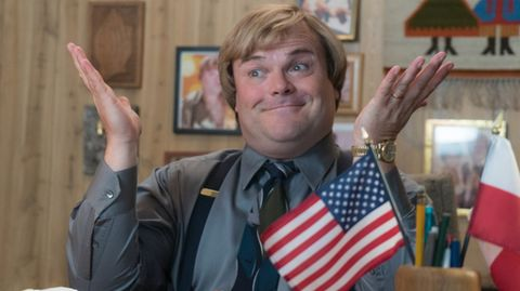 "Jack Black in seinem neuen Film ""The Polka King"""