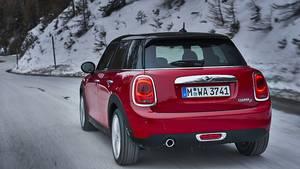 Mini Cooper D mit Doppelkupplungsgetriebe - die Modellpflege kommt erst im Frühjahr
