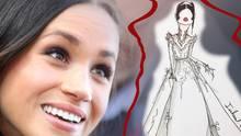 Meghan Markles potenzielles Hochzeitskleid