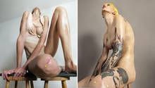Roger Weiss: Bilder, die die mediale Darstellung des weiblichen Körpers kritisieren