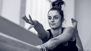 Weltmeisterin Pauline Schäfer: Der schwere Kampf am Schwebebalken