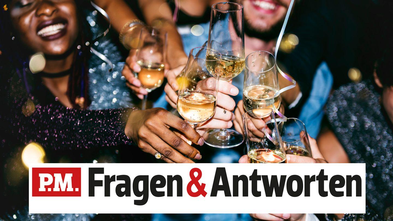 P.M. Fragen & Antworten Sekt oder Wein betrunken